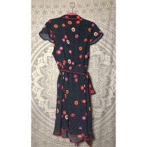 Modcloth Dresses - NWOT MODCLOTH Daytime Dapper Wrap Dress in Navy